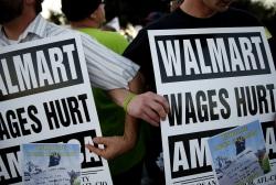Who's really protesting at Walmart?