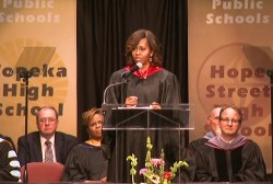 Commencement speakers discuss race and racism
