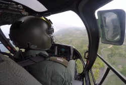 Inside a chopper relief mission to Nepal's...