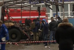 Deadly blasts rock Russia