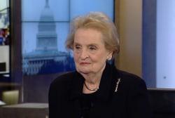 Albright: 'America is not meddling'
