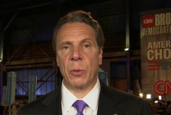 NY Governor Cuomo: 'This is a real race'