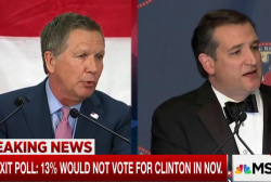 Kasich, Cruz Look Beyond New York