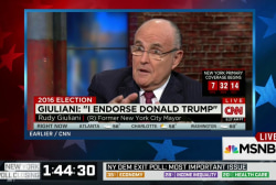 "Giuliani: ""Trump is clearly the best choice"""