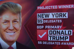 NBC News: Trump wins NY GOP primary