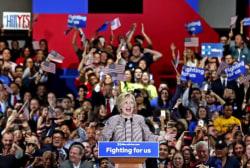 Hillary Clinton eyes general election