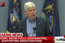 MI governor addresses Flint criminal charges