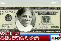 Harriet Tubman new face of $20 bill