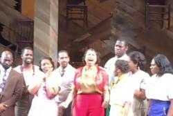 Jennifer Hudson sings 'Purple Rain' on...