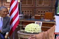 Saudi Arabia visit reflects strained history