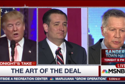 Trump: GOP Rivals 'Colluding' To Stop Him