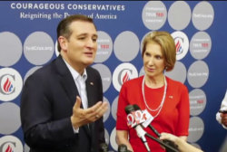 Fiorina accepts number two slot on Cruz...