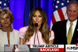 Melania Trump profiler hit with Anti-Semitism