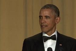 Obama pokes at Trump during WHCD speech