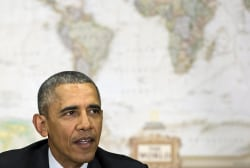 10 times Obama vowed not to send troops to...