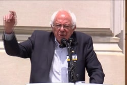 Sanders addresses Carrier protesters in IN