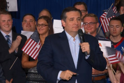 Ted Cruz makes primary night remarks