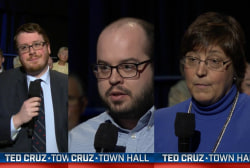 Did Cruz change voters' minds at town hall?