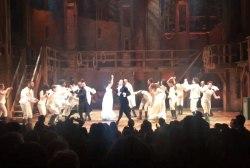 Cast of 'Hamilton' perform Broadway...