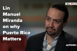 Lin-Manuel Miranda on saving Puerto Rico
