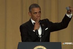 Obama's best WHCD zingers