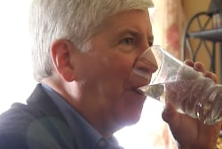Snyder: I'll drink Flint water for 1 month