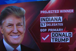 NBC News: Trump wins IN primary