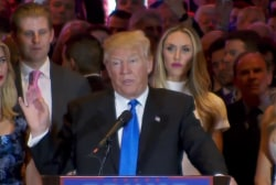Trump assesses the race after his Indiana win
