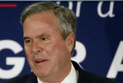Bush won't vote for Trump in general election