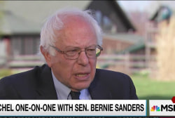 Sanders calls for a Democratic Fox News
