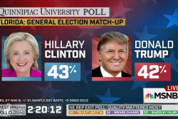 Poll: Clinton, Trump Virtually Tied in...