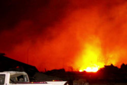 2013 Texas fire declared deliberate