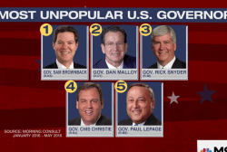 'MTP Daily' Exclusive: GOP Governors Ranked