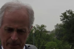 Sen. Corker shows support for Trump meetings