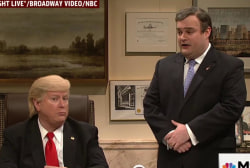 SNL spoofs Trump, Christie in search for Veep