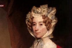 Who was First Lady Louisa Adams?