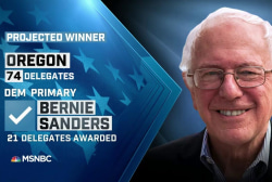 NBC: Sanders wins Oregon primary