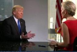 Trump softens, won't admit regrets in...