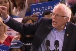 Sanders Takes On Democratic Establishment