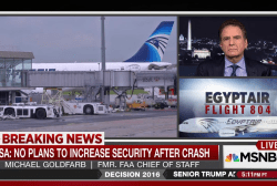 Airport security in the wake of EgyptAir...