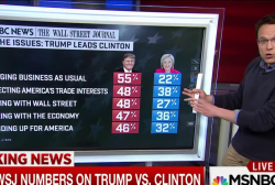 New Poll Numbers on Trump vs. Clinton Race