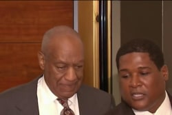 Cosby accuser: 'There is a pattern of...