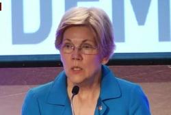 Warren slams Trump as 'small, insecure man'
