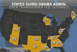 11 states sue Obama over bathroom guidance