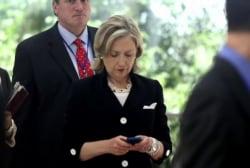 Clinton adamant email problem won't impact...