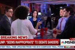 Trump turns down debate with Sanders