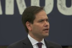Rubio: Trump shouldn't change if he's...