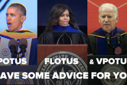 Listen up, grads: Advice from the White House
