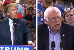 Who benefits most from Sanders-Trump debate?