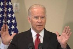 Biden: 'Don't quit' on reducing gun violence